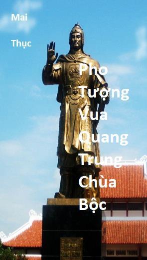 Pho Tượng Vua Quang Trung Chùa Bộc