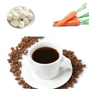 Cà rốt, Trứng Hay Café