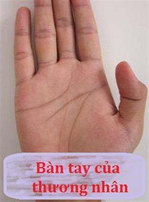 Ban Tay Phù Hợp Làm Thương Nhân