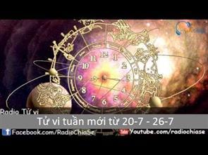 Tử vi tuần mới từ 20/7 - 26/7