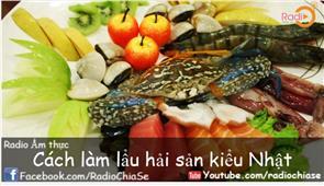 Cách làm món lẩu hải sản Nhật Bản
