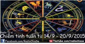 Chiêm tinh tuần từ 14/9 đến 20/9/2015