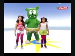 Bé tập nhảy cùng Gấu Gummy - Gummy Bear