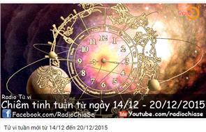 Tử vi tuần mới từ 14/12 đến 20/12/2015