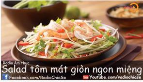 Salad Tôm Mát Giòn Ngon Miệng
